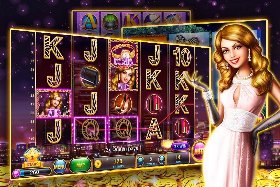 Slots™ - Fever slot machines poster