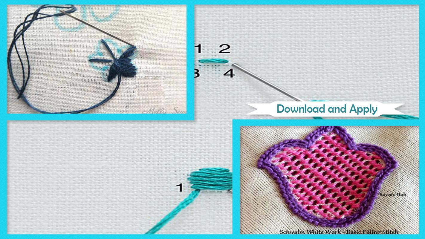 Embroidery Stitches For Android Apk Download