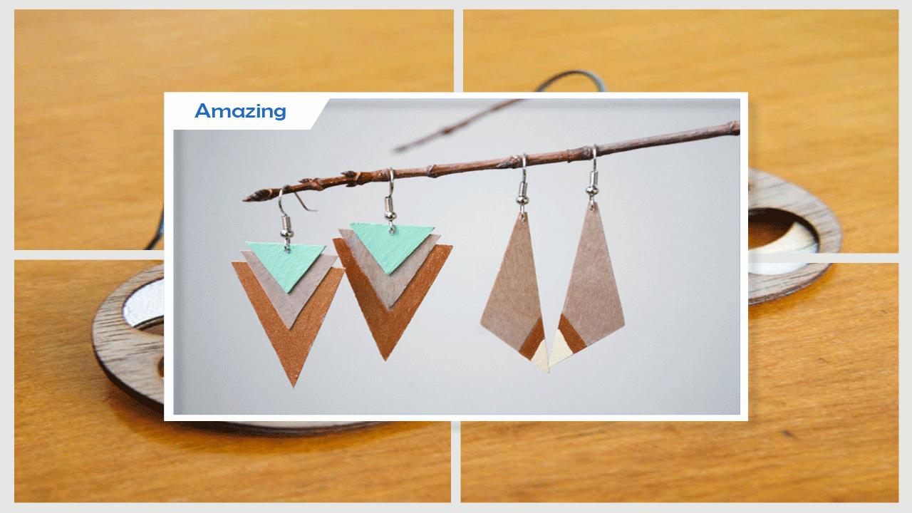 Easy Diy Wooden Earrings For Android Apk Download