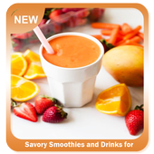 Savory Smoothies and Drinks for Diet icon
