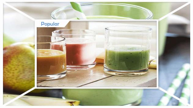 Savory Smoothies and Drinks for Diet screenshot 1
