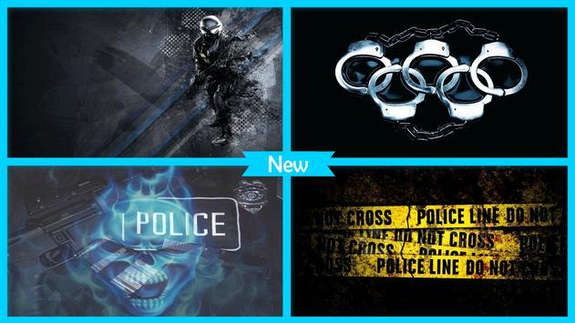 Police Wallpaper screenshot 2