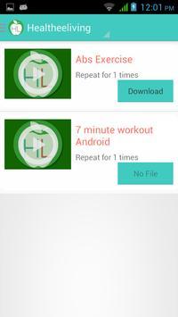 Healtheeliving apk screenshot