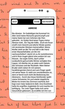 German Short Stories Deutsche Kurzgeschichten screenshot 1