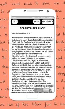 German Short Stories Deutsche Kurzgeschichten screenshot 3