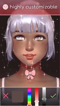 Live Portrait Maker: 女の子 スクリーンショット 2