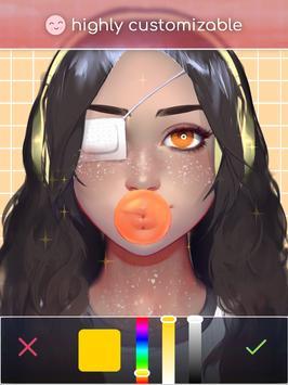 Live Portrait Maker: 女の子 スクリーンショット 7