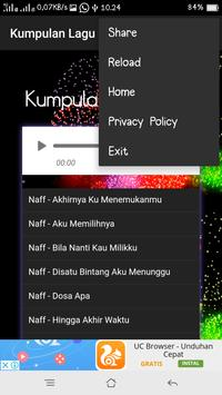 Kumpulan Lagu  N A F F screenshot 2
