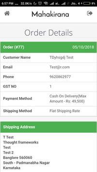 Mahakirana Delivery screenshot 3