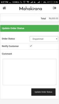 Mahakirana Delivery screenshot 4