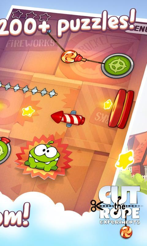 Cut the rope: experiments free for android apk download.