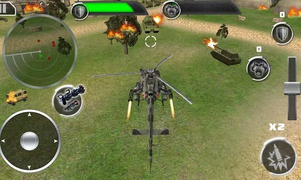 Helicop GunShip Strike Battle poster