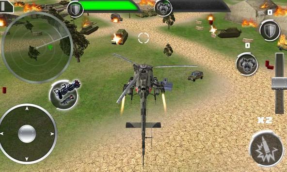 Helicop GunShip Strike Battle apk screenshot