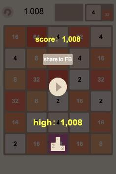 4096 - new 2048 apk screenshot