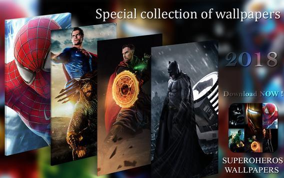Superheroes Wallpapers screenshot 4