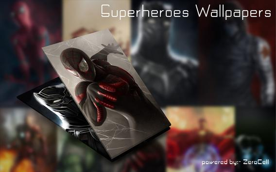 Superheroes Wallpapers screenshot 1