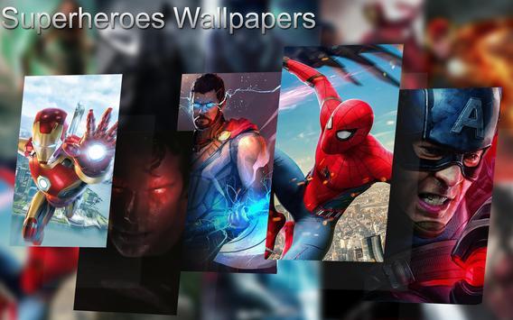 Superheroes Wallpapers screenshot 3
