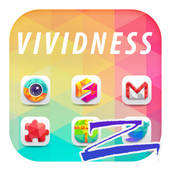 Vividness Theme-ZERO Launcher icon