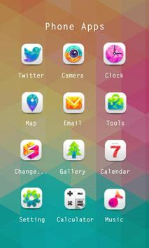 Vividness Theme-ZERO Launcher apk screenshot