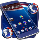 Red, White & Blue Launcher icon