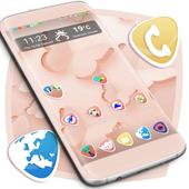 Simple Butterflies Launcher Theme icon