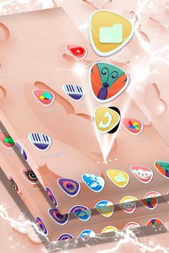 Simple Butterflies Launcher Theme apk screenshot