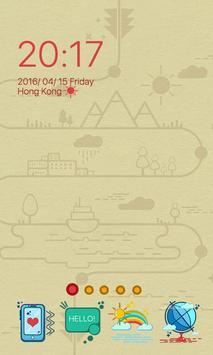 Cartoon Dream Launcher Theme poster