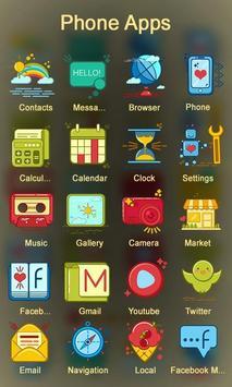 Cartoon Dream Launcher Theme apk screenshot