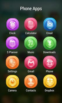 Crystal Shine ZERO Launcher apk screenshot