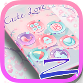 Cute Pastel Launcher Theme icon