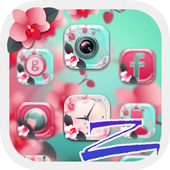 Flower Blossom Theme for Launcher icon