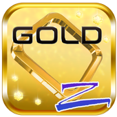Gold Shine Launcher Theme icon