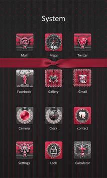 Gothic Style - ZERO Launcher apk screenshot