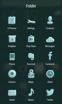 Glassy ZERO Launcher apk screenshot