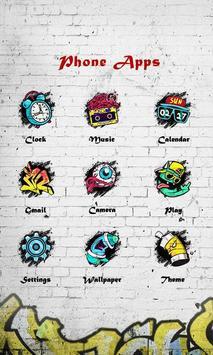 Graffiti - ZERO Launcher imagem de tela 3