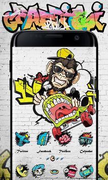 Graffiti - ZERO Launcher plakat