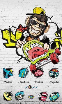 Graffiti - ZERO Launcher imagem de tela 1