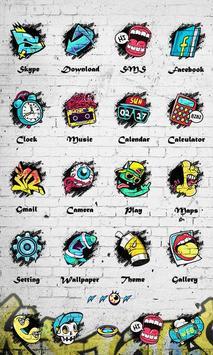 Graffiti - ZERO Launcher imagem de tela 2