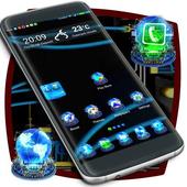 Holograms Launcher Theme icon
