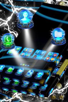 Holograms Launcher Theme apk screenshot