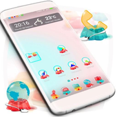 Cute Jelly Launcher Theme icon