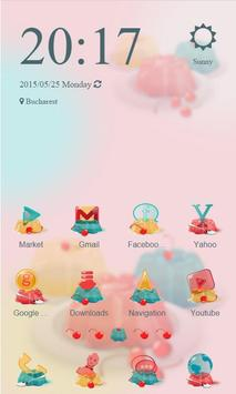 Cute Jelly Launcher Theme apk screenshot