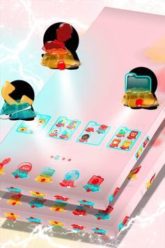 Cute Jelly Launcher Theme screenshot 1