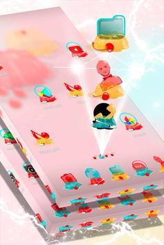Cute Jelly Launcher Theme screenshot 2