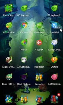 Cute Jungle Launcher Theme apk screenshot