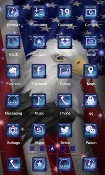 Freedom Eagle Launcher Theme screenshot 1
