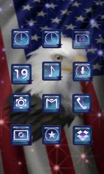 Freedom Eagle Launcher Theme screenshot 2