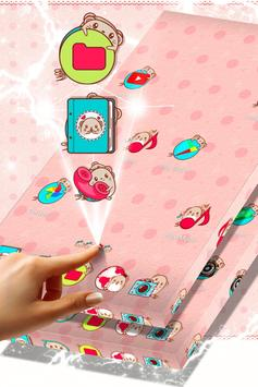 Kawaii Mouse Launcher Theme apk screenshot