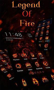 Legend of Fire Launcher poster
