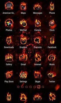 Legend of Fire Launcher apk screenshot